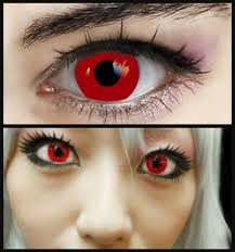 halloween vampire contacts gothic red vampire halloween contact lenses 89997