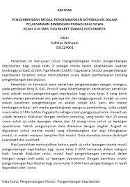 format abstrak tesis contoh abstrak download contoh abstrak skripsi