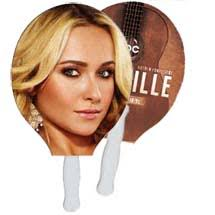 fan faces on a stick custom hand fans printed hand fans printglobe promotional products