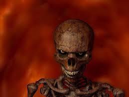 halloween skeleton wallpaper most scary wallpapers wallpapersafari