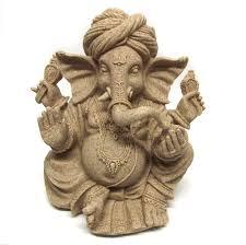 ganesha ornament statue figurine sculpture elephant hindu sand