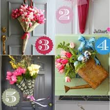 door decorations for spring spring porch decorating ideas