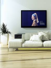 Livingroom Art Tv Art Gallery From Cromulent Labs