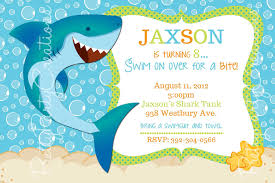 shark birthday invitations templates free invitations ideas
