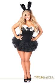 costumes plus size top drawer plus size formal tuxedo bunny costume
