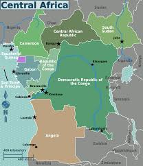 Angola Africa Map by Central Africa U2013 Travel Guide At Wikivoyage