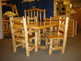 Log Dining Room Tables 51 103