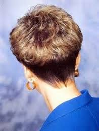 wedge haircuts front and back views short wedge with defined curls love to see glossy defined curls