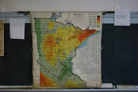Pull Down World Map by West Concord High Minnesota Prairie Roots