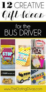 101 easy u0026 creative teacher gift ideas bus driver creative