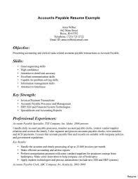 accounts payable resume format accounts payable resume exle best exle resume cover letter