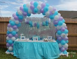 interior design frozen birthday party theme decorations home