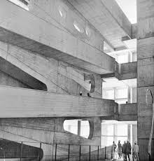 Le Corbusier Design High Court Chandigarh India 1950 54 Designed By Le Corbusier