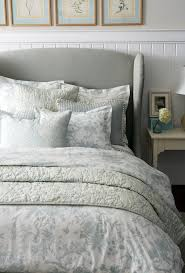best 25 winged headboard ideas on pinterest tufted bed bedroom toile bedding with gray wing headboard