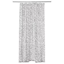Gray Fabric Shower Curtain Shower Curtains U0026 Rods Ikea