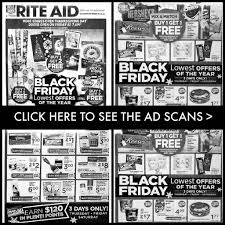 rite aid black friday ad 2018 deals store hours ad scans