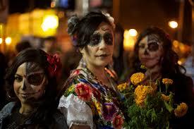 day of the dead zombie halloween mask petaluma downtown el dia de los muertos petaluma