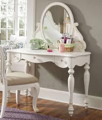 Vanity Desk Mirror Modern Vanity Desk With Mirror Square Legs Black Faucet Design