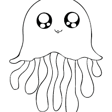 free coloring pages jellyfish jellyfish coloring page dawgdom com