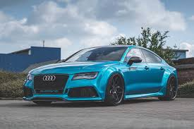 widebody truck widebody audi rs 7 is a magnificent beast