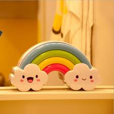 night light sound led rainbow night light sound voice control l for baby bedside