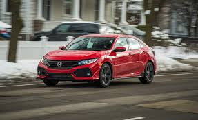 honda 2017 honda civic in depth model review car and driver