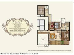 mahagun manorial floorplan