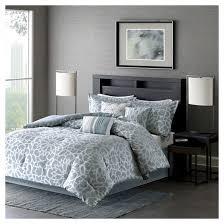 Graphic Duvet Cover Carmela Graphic Floral Print Comforter Set 7pc Target