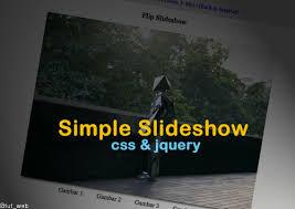 membuat web html tutorial membuat slideshow dengan css3 dan jquery tutorial web design