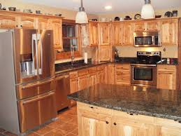 2017 kitchen colors kitchen colors with hickory cabinets archives www entropiads com