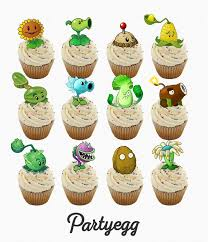 Plants Vs Zombies Cake Decorations 68 Best Zoombie X Palnts Images On Pinterest Plants Vs Zombies