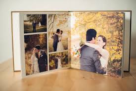 a wedding album creating and designing a wedding photo album united with