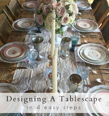 designing a tablescape js weddings and events