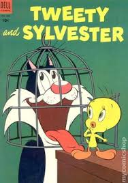 tweety sylvester comic book good 4 5 tweety