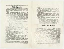 Baby Funeral Program Funeral Program For Myra D Hemmings December 14 1968 Page 2