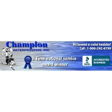 champion waterproofing waterproofing 1216 lowry ave jeannette