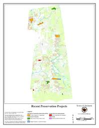 Amherst College Map Recent Preservation Projects Amherst Ma Official Website