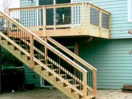 Backyard Deck Ideas 15 Natural And Beautiful Outdoor Staircases Rilane