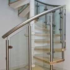 Banister Glass Stair Railings U0026 Spiral Stair Cases Arizona Stair Case Experts