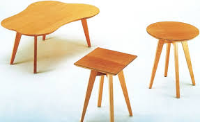 risom amoeba coffee table hivemodern com