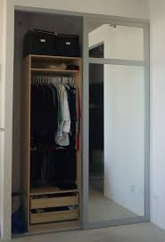 Mirrored Sliding Closet Doors Mirrored Closet Doors Custom Mirrored Closet Doors For Home