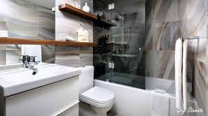 small 10 bathroom with floating shelves on half bath floating