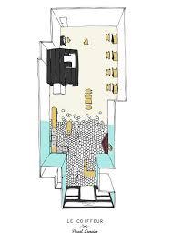 hair salon floor plan maker gallery of le coiffeur margaux keller design studio bertrand