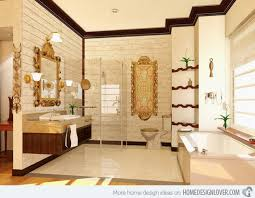 classic design bathrooms design simple brown bathroom designs classic tile