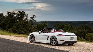 porsche 2017 white 2017 porsche 718 boxster here u0027s what the four cylinder boxster is