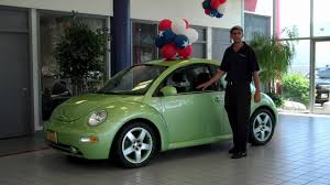 volkswagen beetle green 2003 vw beetle gls turbo 7 985 youtube