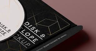 psd cd disk sleeve mock up psd mock up templates pixeden