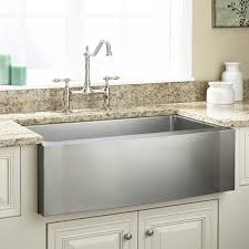 sinks oversize stainless steel apron farmhouse sink granite