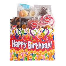 birthday gift basket sweet box happy birthday gift basket sweet pete s candy shop