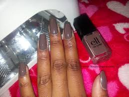 gel nails create perfect nails using nail forms diy gel manicure fall series pt 1 smoky brown beauté